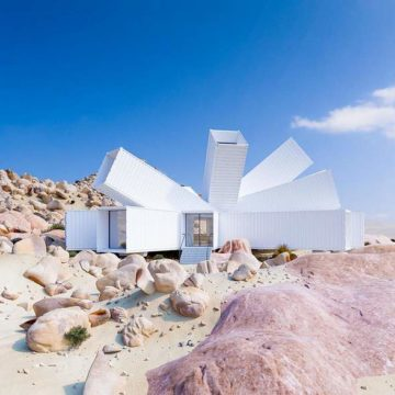 Architect Transforms Shipping Containers and  Constructs Extraordinary House with Fascinating Interior and Exterior.