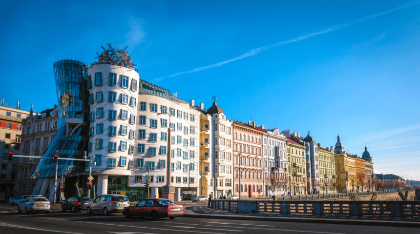 Dancing House is a must-see in Prague