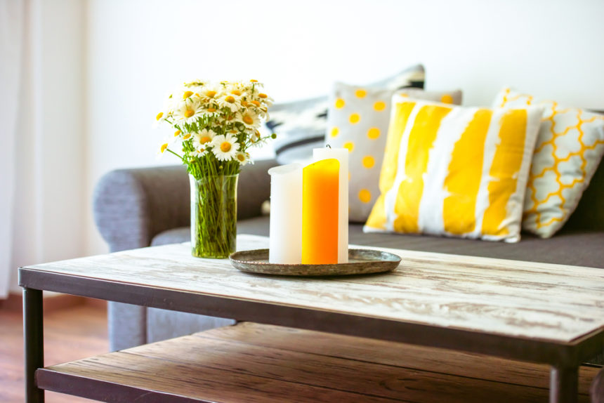 Little Tricks how to Use Properly Yellow in Interior Design