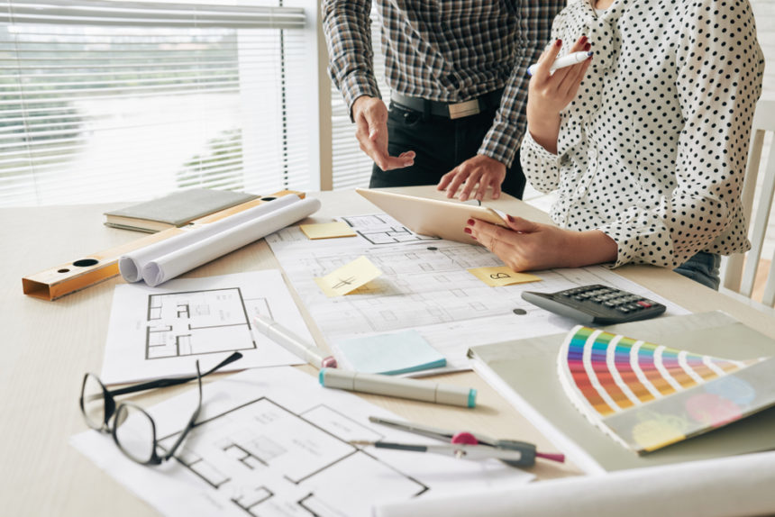 Russian Breakthrough in the Construction: Artificial Intelligence and Interior Design