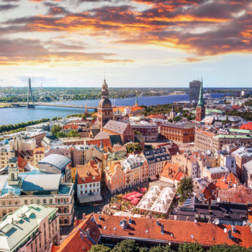 Real Estate Prices in Riga and the Suburbs