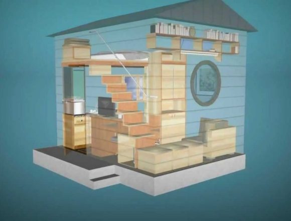 Amazon users can mail-order a wonder-house from NOMAD